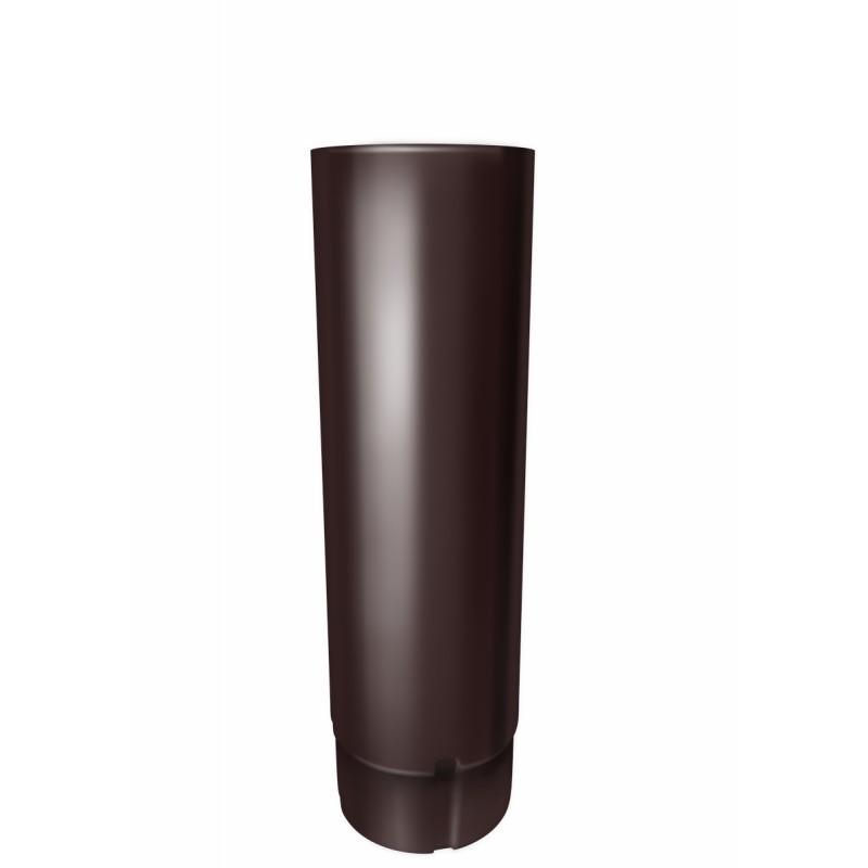 Водосточные трубы Труба круглая ф90-3м (RAL 8017-коричневый шоколад) Труба_круглая_ф90-3м__RAL_8017-коричневый_шоколад_.jpg
