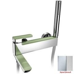 Смеситель для ванны с душевым набором Palazzani Mis color 56102513 фото
