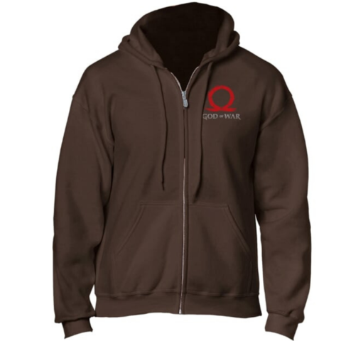 Толстовка God of War Zipper Hoodie Logo