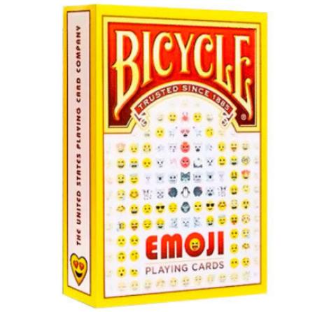 Карты Bicycle Emoji