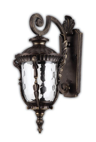 Светильник садово-парковый, 60W 220V E27 Темно-коричневое золото , IP44 , PL5002