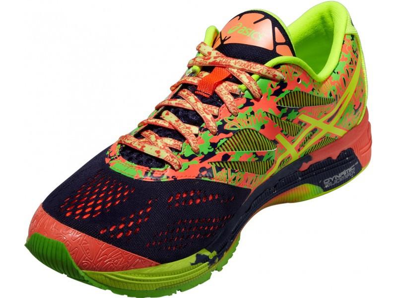 Мужская беговая обувь Asics Gel-Noosa Tri 10 (T530N 4906) желтые фото