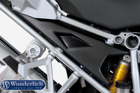 Защитные крышки в раму BMW R1200GSA LC черный