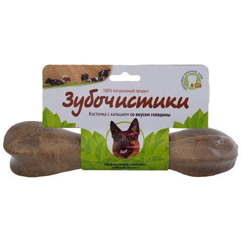 ЗУБОЧИСТИКИ Лакомство жевательное для собак крупных пород со вкусом Говядины