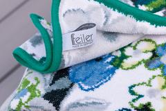 Элитная салфетка шенилловая Valencia Aqua 152 smaragd от Feiler