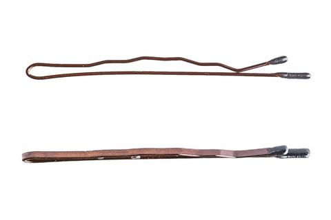 Невидимки Y.S. Park 54 мм коричневые 24 шт