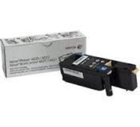 Принт-картридж Xerox голубой для Phaser 6020/6022/ WC 6025/6027. Ресурс 1000 стр. 106R02760