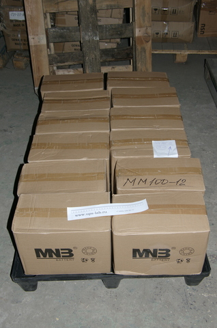 Аккумулятор MNB MM 100-12 - фото 2
