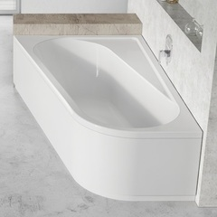 Ванна асимметричная 160х105 см Ravak Chrome CA51000000 фото