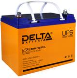 Аккумулятор Delta DTM 1233 L ( 12V 33Ah / 12В 33Ач ) - фотография