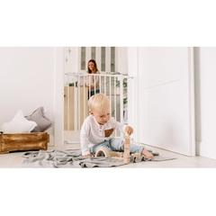 Ворота безопасности Lionelo LO-Truus Slim LED White 75-105 см