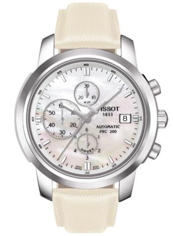 Купить Женские часы Tissot T-Sport PRC 200 Automatic Chronograph T014.427.16.111.00 по доступной цене