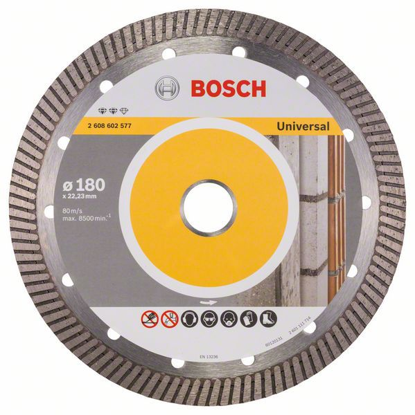 Алмазный диск Expert for Universal Turbo 180-22,23 Bosch 2608602577