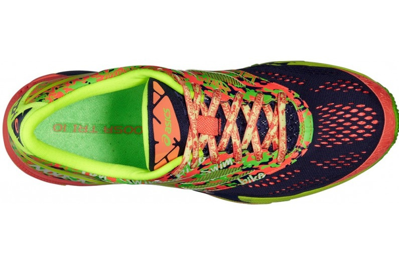 Мужские беговые кроссовки Asics Gel-Noosa Tri 10 (T530N 4906) желтые фото сверху