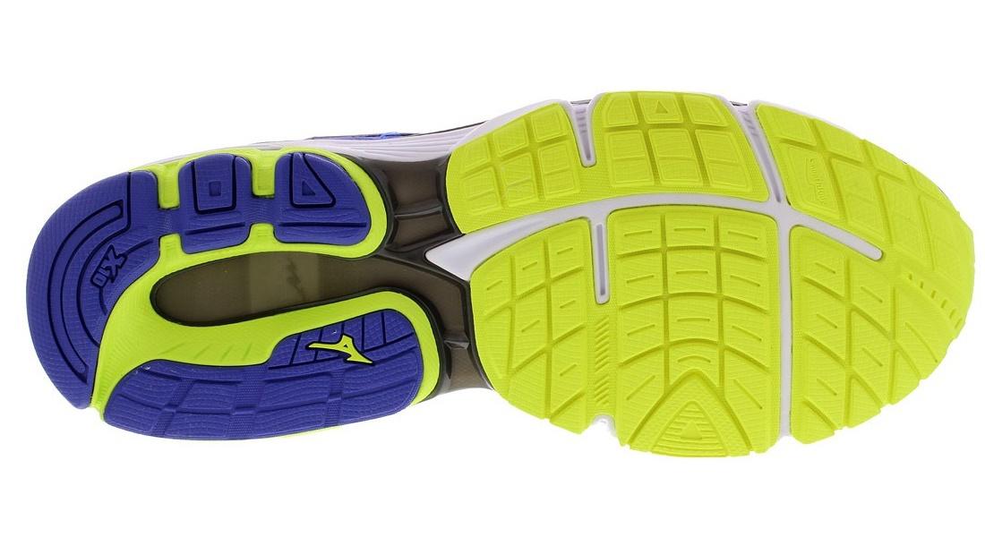Мужские беговые кроссовки Mizuno Wave Inspire 12 (J1GC1644 03) синие фото