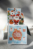 """036_9948 Pop-up открытка-коробочка """"Веселый новый год"""""""