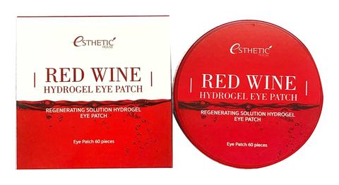 Гидрогелевые патчи для глаз с экстрактом красного вина Esthetic House Red Wine Hydrogel Eye Patch