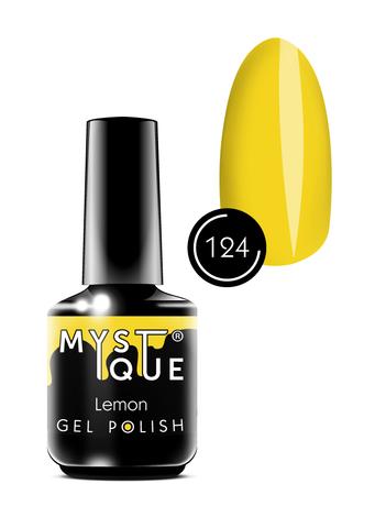 Mystique Гель-лак #124 «Lemon» 15 мл