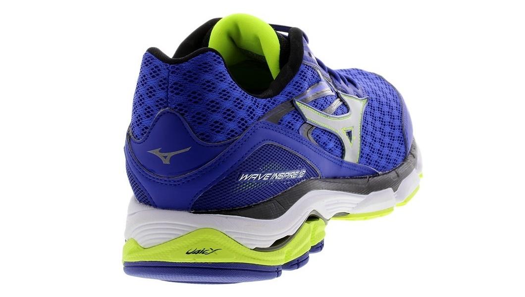 Мужские кроссовки для бега Мизуно Wave Inspire 12 (J1GC1644 03) синие фото