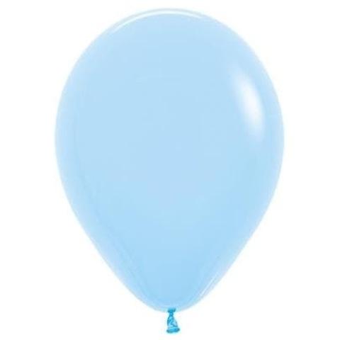 Шар Светло-голубой, макарунс 30 см