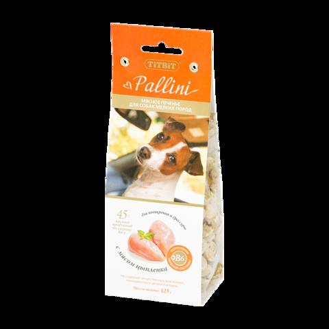 Titbit Pallini Лакомство для собак мелких пород печенье c цыпленком