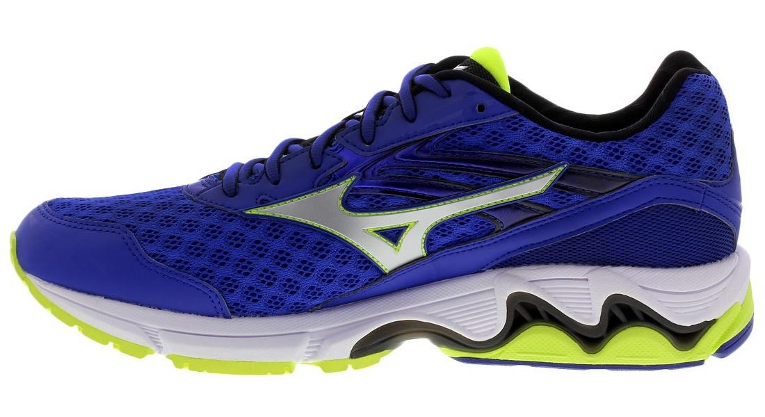 Мужские беговые кроссовки Мизуно Wave Inspire 12 (J1GC1644 03) синие фото