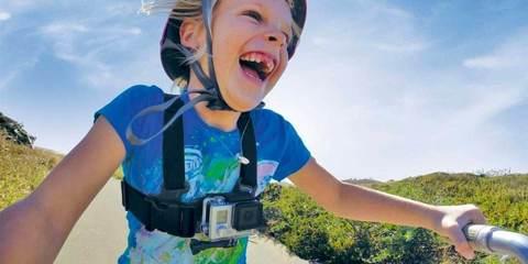 GoPro Jr. Chesty: Chest Harness (ACHMJ-301) пример на ребенке