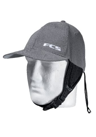 Кепка для серфинга FCS Wet Baseball Cap Gun Metal Large