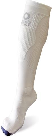 Компрессионные носки Noname Zero Point Highline белые