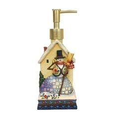 Дозатор для жидкого мыла Blonder Home Wish Upon A Snowman