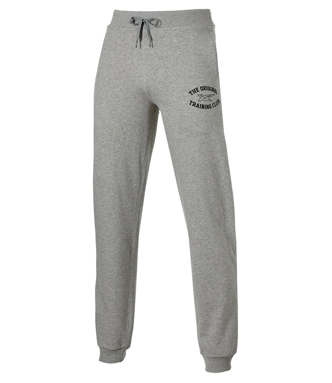 Мужские спортивные штаны Asics Graphic Cuffed Pant (131534 0714) серые фото