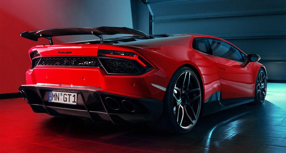 Обвес Novitec для Lamborghini Huracan LP 570