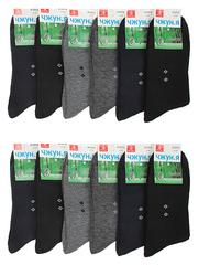 A1013 носки мужские 41-47 (12 шт.) цветные