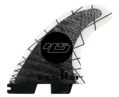 Плавники FCS II HS PC Carbon Large Tri-Quad Retail Fins компл. из пяти L
