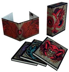 Подарочный набор «D&D Core Rulebook Gift Set» с альтернативными обложками