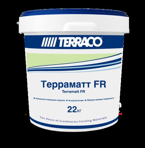 Terraco Terramatt FR/Террако Терраматт ФР декоративно-отделочное пожаробезопасное покрытие на водной основе для окраски стен и потолков