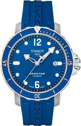 Купить Мужские швейцарские часы Tissot T-Sport Seastar 1000 T066.407.17.047.00 по доступной цене