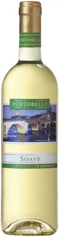 Вино Портобелло Соаве белое сухое с защищенным наименованием места происхождения 0,75л (6)