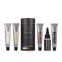 Набор Vector Brow Kit 4 Colors