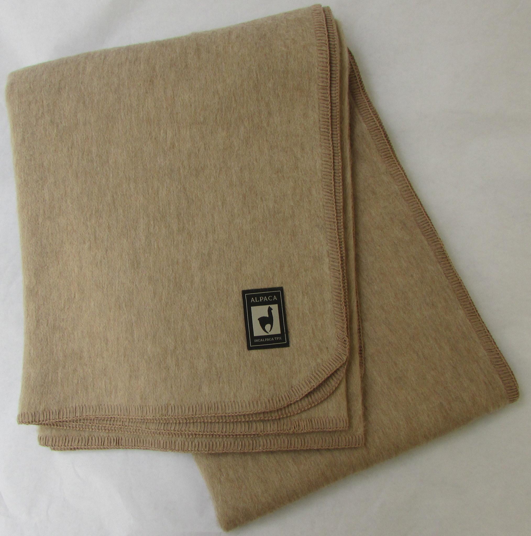 Шерстяные одеяла Одеяло INCALPACA  Перу из шерсти альпаки  OA-4 OA-4.JPG