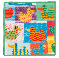 Полотенце детское 25x25 Feiler Ducky Patch