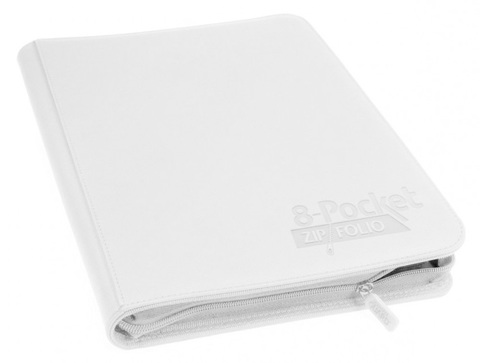 Ultimate Guard - Белый гибкий альбом XenoSkin на молнии на 320 карт (4х2)
