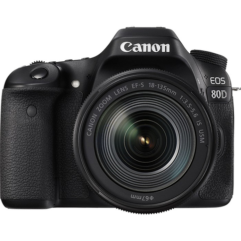 Canon EOS 80D Kit 18-135 IS Nano