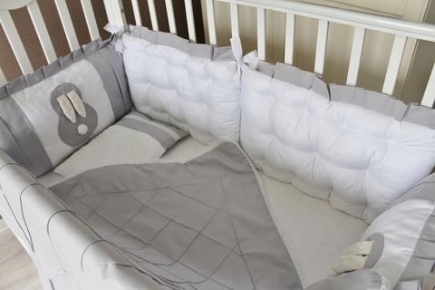 Бортики в кроватку Sweet Baby, на 4 стороны кроватки