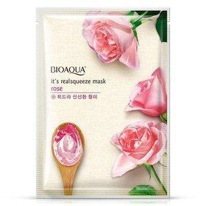Bioaqua Тканевая маска для лица с экстрактом розы Rose Mask