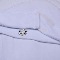 Зимний нарядный конверт на выписку Вензеля (голубой)
