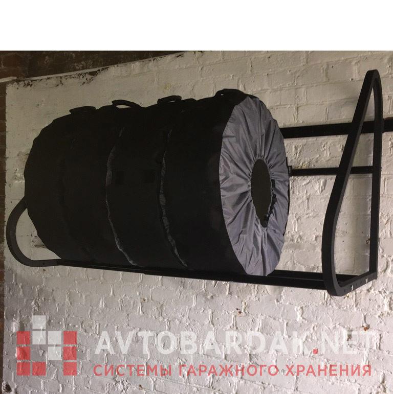 Чехлы для колес XXL усиленные (R17—R22, 235—320 мм), 4 шт.