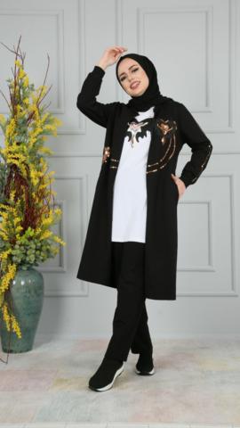 Спортивный костюм Camelya fashion 004 black