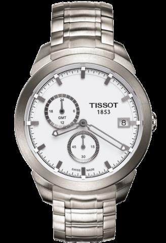 Купить Мужские швейцарские часы Tissot T-Sport Titanium GMT T069.439.44.031.00 по доступной цене