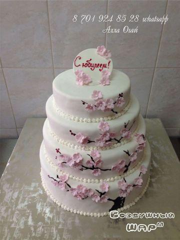 фотоальбом свадебные торты_алматы